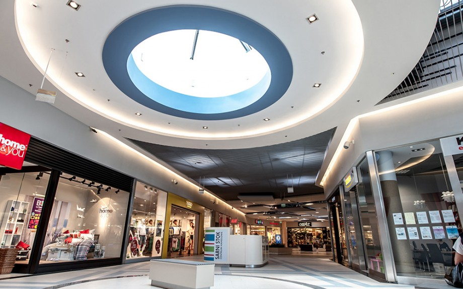 SHOPPING CENTRE SARNI STOK BIELSKO BIALA – INTERIOR DESIGN