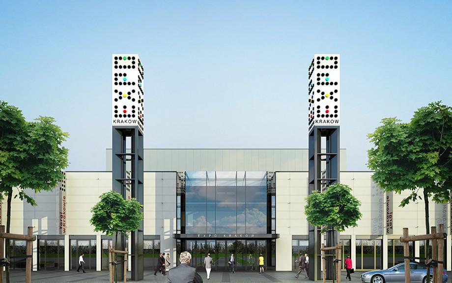 Centrum Targowo Kongresowe EXPO w Krakowie