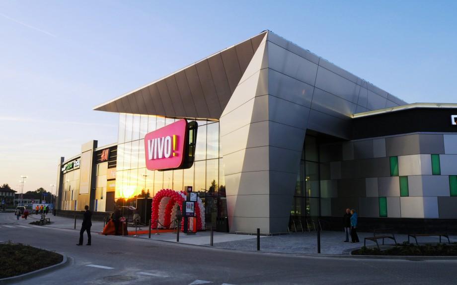 centrum handlowe VIVO! w Krosnie